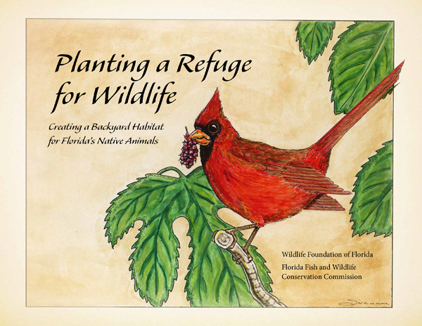 Cover of planting a wildlfie refuge
